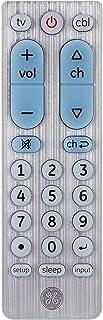 GE Big Button Universal Remote Control for Samsung, Vizio, Lg, Sony, Sharp, Roku, Apple TV, RCA, Panasonic, Smart TVs, Str...
