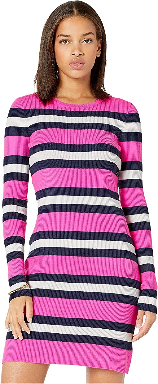 Mandevilla Pink Safari Stripe