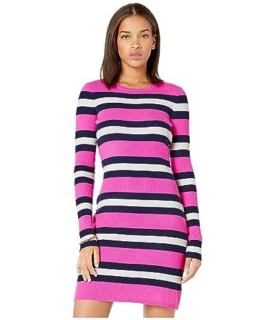Lilly Pulitzer Adeen Sweater Dress (Mandevilla Pink Safari Stripe) Women
