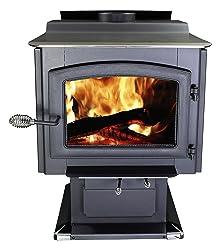 Ashley Hearth AW3200E-P EPA Certified Pedestal Wood Burning Stove