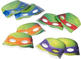 American Greetings Teenage Mutant Ninja Turtles Party Supplies, Paper Masks (8-Count)