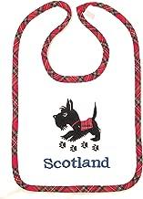 Scottie Dog Scotland Baby Bib