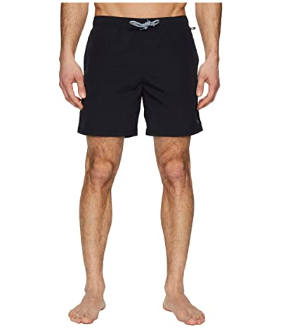 Original Penguin Quick Dry Daddy Swim (True Black) Men