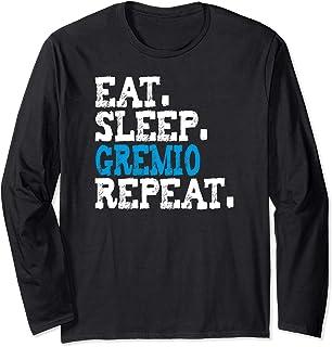 Gremio Eat Sleep Repeat T-shirt Football soccer