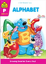 School Zone - Alphabet Workbook - 64 Pages, Ages 3 to 5, Preschool, ABC's, Letters, Tracing, Alphabetical Order, and More ...