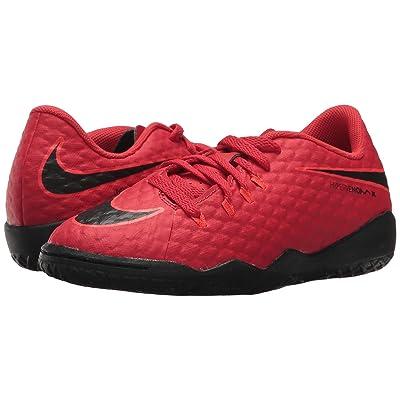 Nike Kids Hypervenom Phinish II IC Soccer (Little Kid/Big Kid) (University Red/Black/Bright Crimson) Kids Shoes