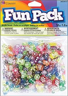 Cousin 34734117 Fun Packs 50gm Assorted Diamond Beads