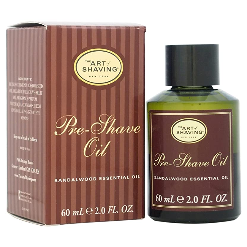 多様体武装解除安定The Art Of Shaving Pre-Shave Oil With Sandalwood Essential Oil (並行輸入品) [並行輸入品]
