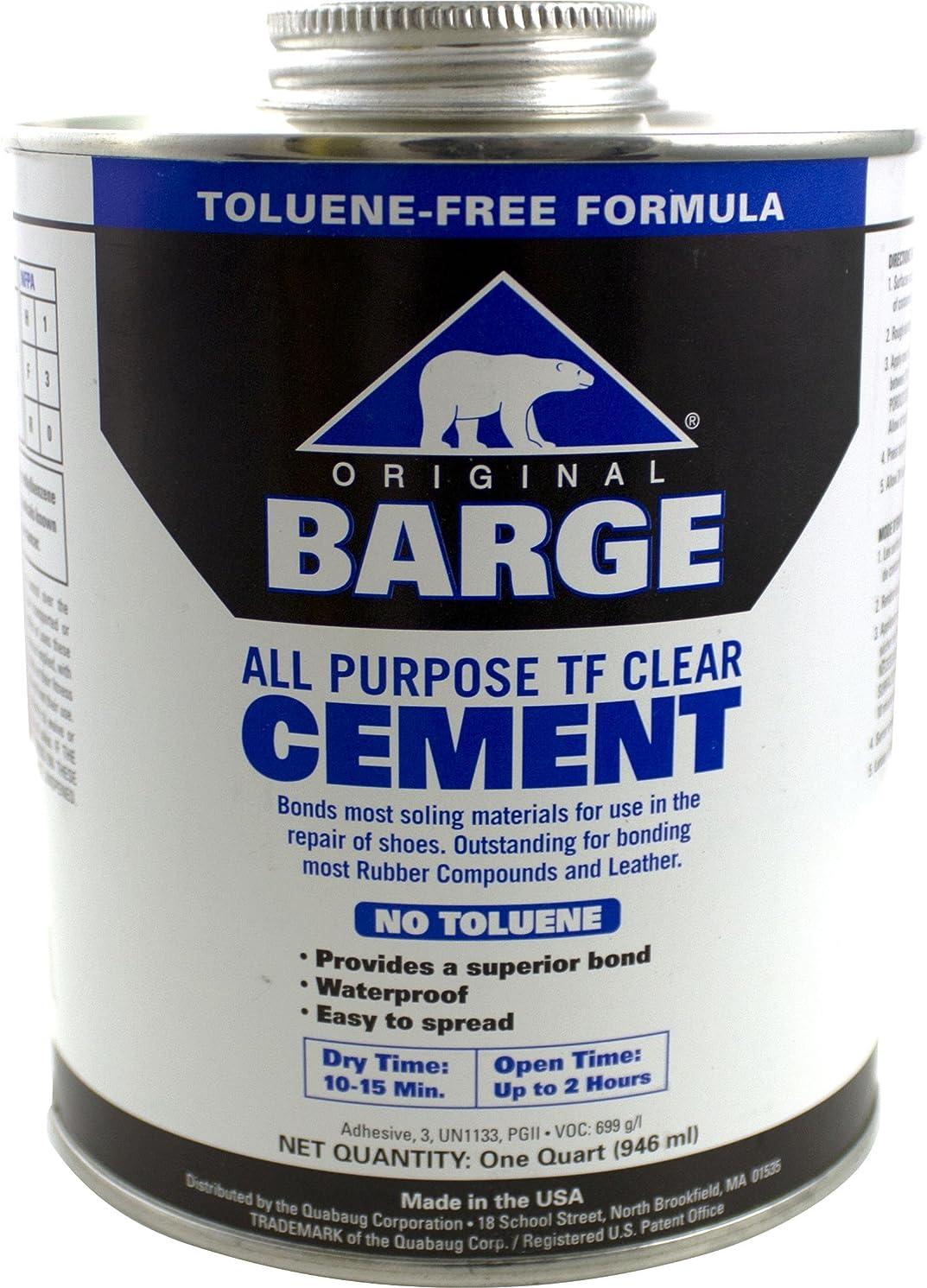 Barge Toluene Free All-Purpose Cement Cement, 32 oz