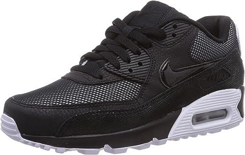 Nike - Air Max 90 Premium, Sneakers da Donna, Nero (Black/White ...