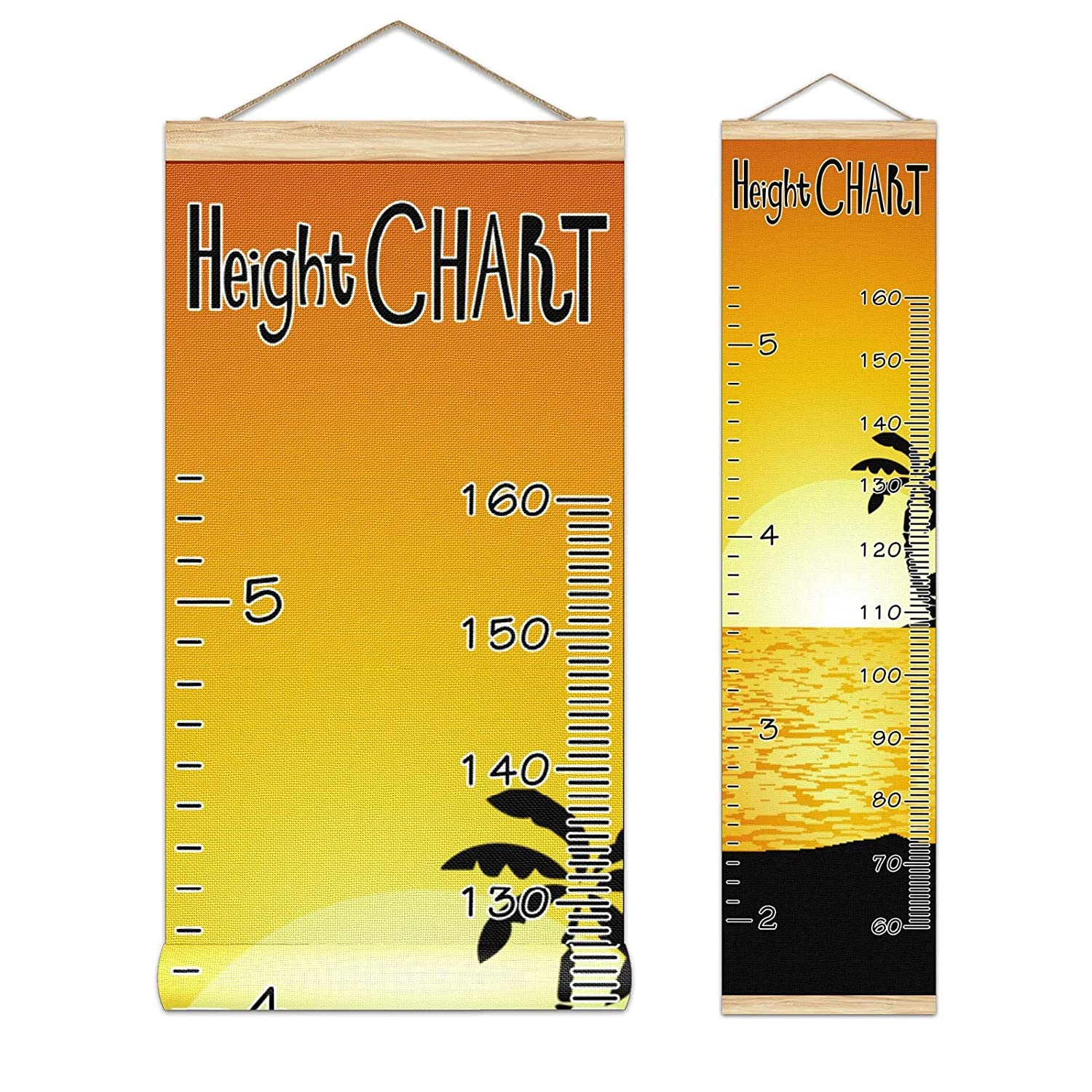 Kids Growth Chart Ruler for Wood Measure price Award Frame Height Wall