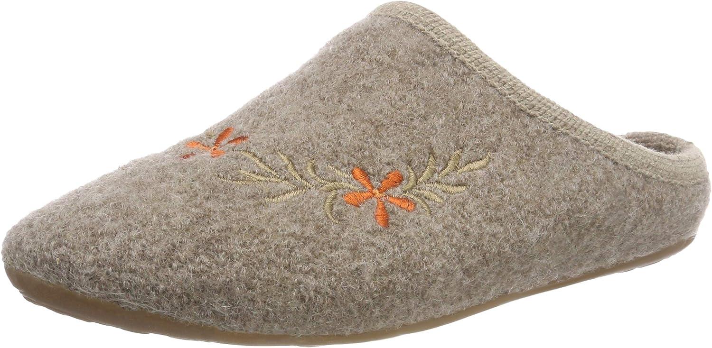 Haflinger Damen Flower Dakota Pantoffeln  | Förderung  | Ab dem neuesten Modell  | Qualität und Quantität garantiert