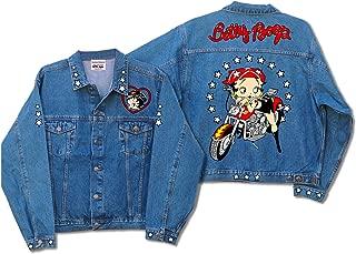 Licensed Betty Scoot Biker Denim Jacket DJ-9022