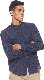 Levi's Mens Indigo Dye قميص