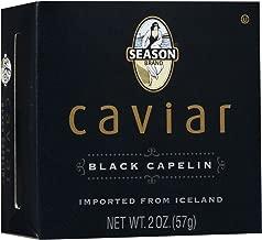 Season Product Black Capelin Caviar, 2 oz