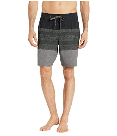 Quiksilver Waterman Liberty Triblock Boardshorts 19 (Black) Men