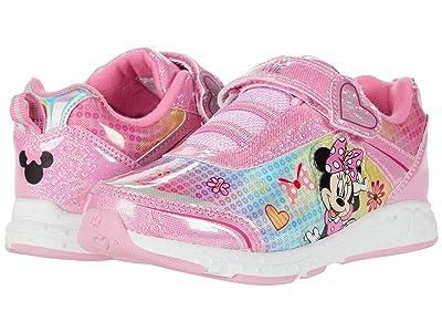Josmo Kids Minnie Mouse Sneaker (Toddler/Little Kid) (Pink Metallic) Girl