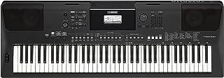 Yamaha PSR-EW410 - Teclado digital portátil para nivel principiante y avanzado con funciones de DJ, amplificador y altavoces incorporados, color Negro