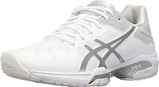 ASICS Women's GEL-Solution Speed 3 Tennis Shoe 白色/银色 5 B - Medium