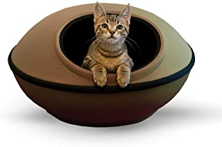 K&H Pet Products Mod Dream Pod Pet Bed Tan/Black 22""