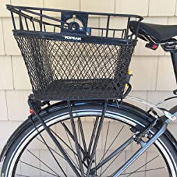 Attaches to Any MTX Rack Handle Topeak Rear MTX Basket Easy Quick Release w