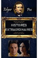 HISTOIRES EXTRAORDINAIRES. Illustré Format Kindle
