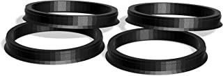 CECO Alloy Hub Centric Rings 63.36mm Set of 4 Small Chamfer 73.00mm