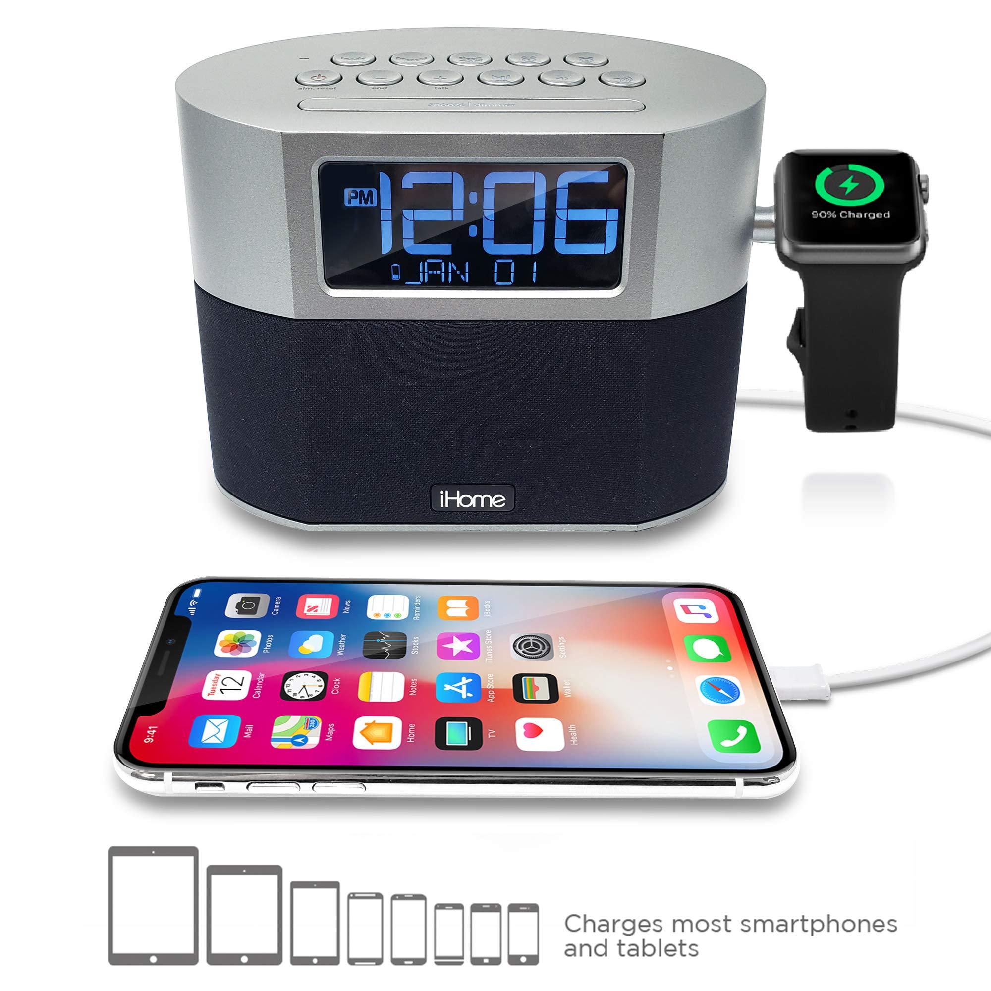 iHome Bluetooth Alarm Speakerphone Charging