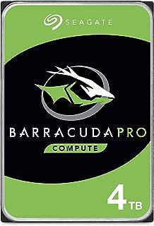 Seagate BarraCuda Pro, 4TB, Disco duro interno de alto rendimiento, HDD, 3,5