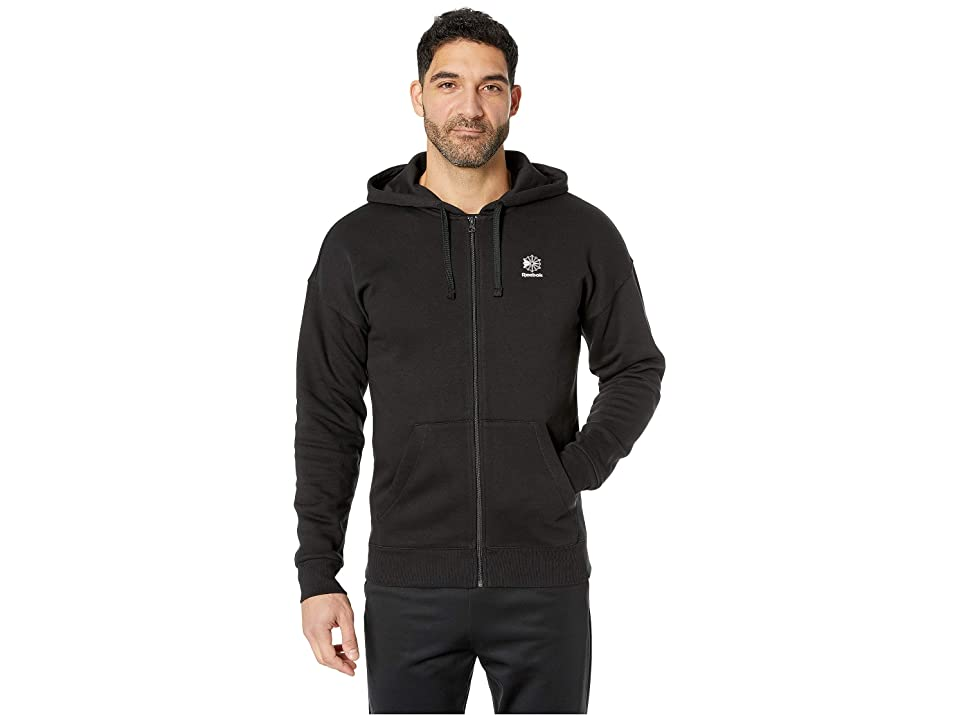 Reebok Gp F Full Zip Hoodie (Black) Men