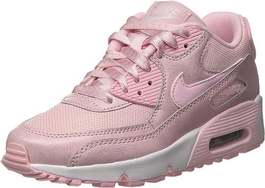 Nike Air Max 90 Mesh Se GG, Scarpe da Ginnastica Bambina