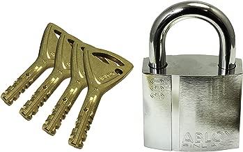 高能量 ABLOY 南京锁 衬垫锁 PL330N/25