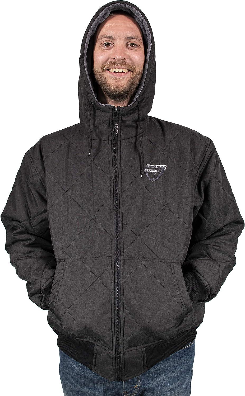 Freeze Defense Men's Fleece Lined Quilted Winter Jacket Coat