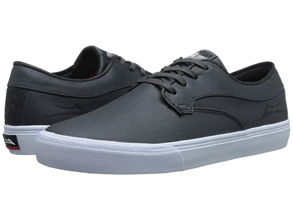 Lakai Riley Hawk (Gargoyle Coated Canvas) Men