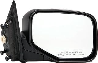 Dorman 955-1713 Passenger Side Power Door Mirror - Folding for Select Honda Models, Black