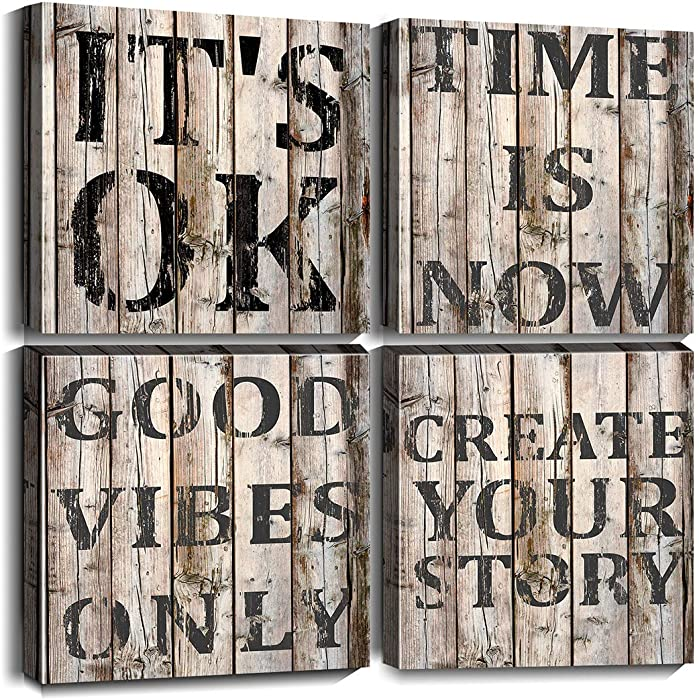 Updated 2021 – Top 10 Wall Decor Quotes On Wood
