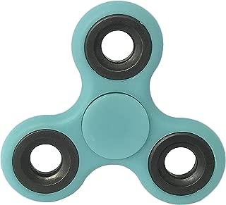 指こま ストレス解消 Relax 大人気 ADD &ADHD子供 大人に適用 フォーカスToy EDC Toy(夜光ブルー)