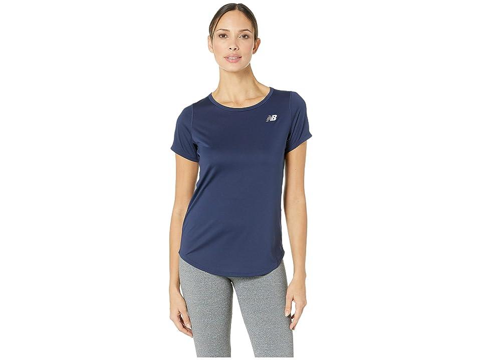 New Balance Accelerate Short Sleeve Top v2 (Pigment) Women