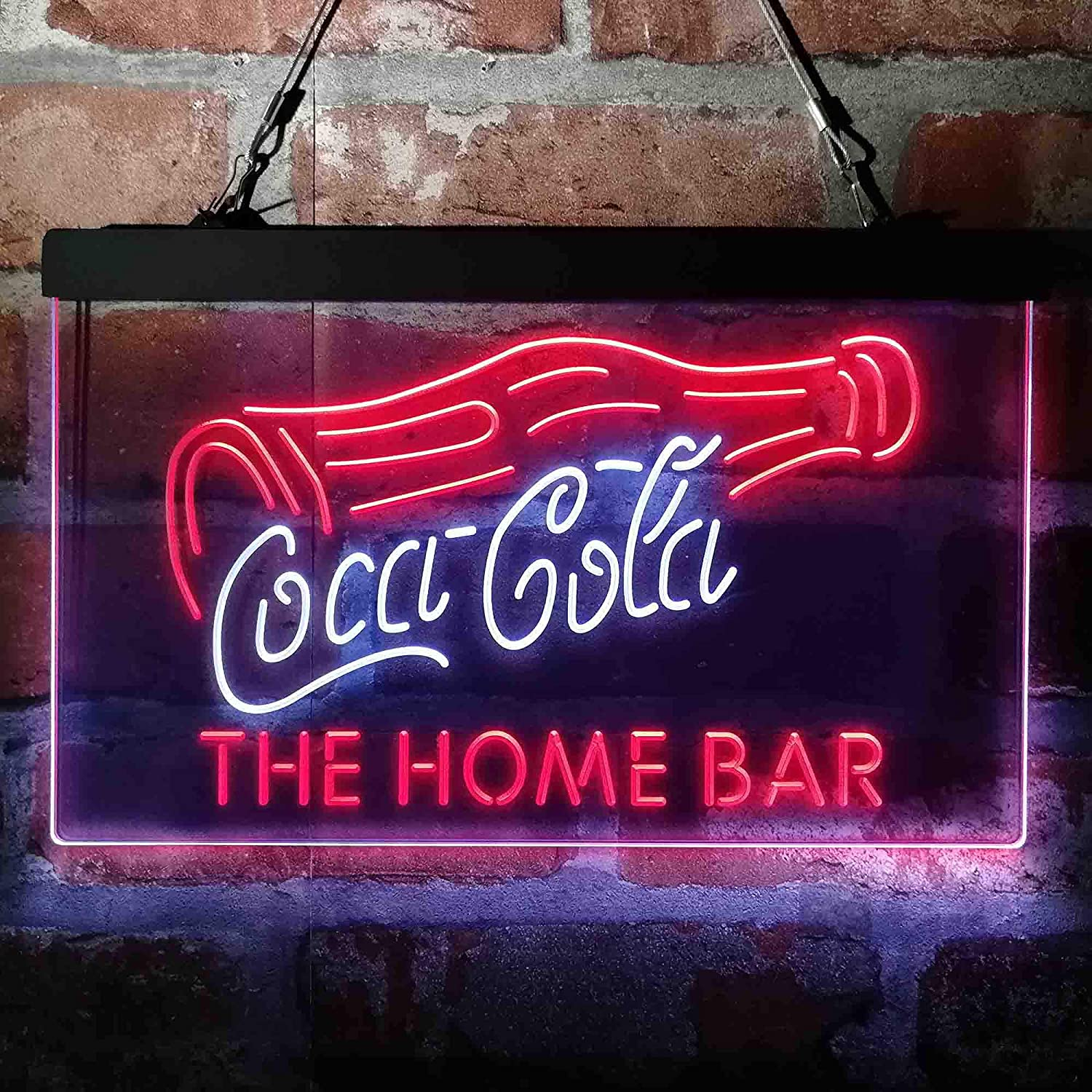 Coca Cola Bottle Drink Bar New product!! Custom Home My C Max 68% OFF Man Personalized