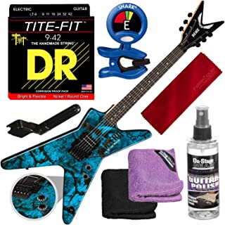Dean Dimebag Pantera Far Beyond Driven ML Electric Guitar with Clip-On Tuner & Accessory Bundle