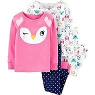 Baby Girls' 4 Pc Cotton 371g083