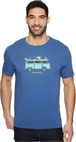 Life is Good - Old School Van Smooth Tee