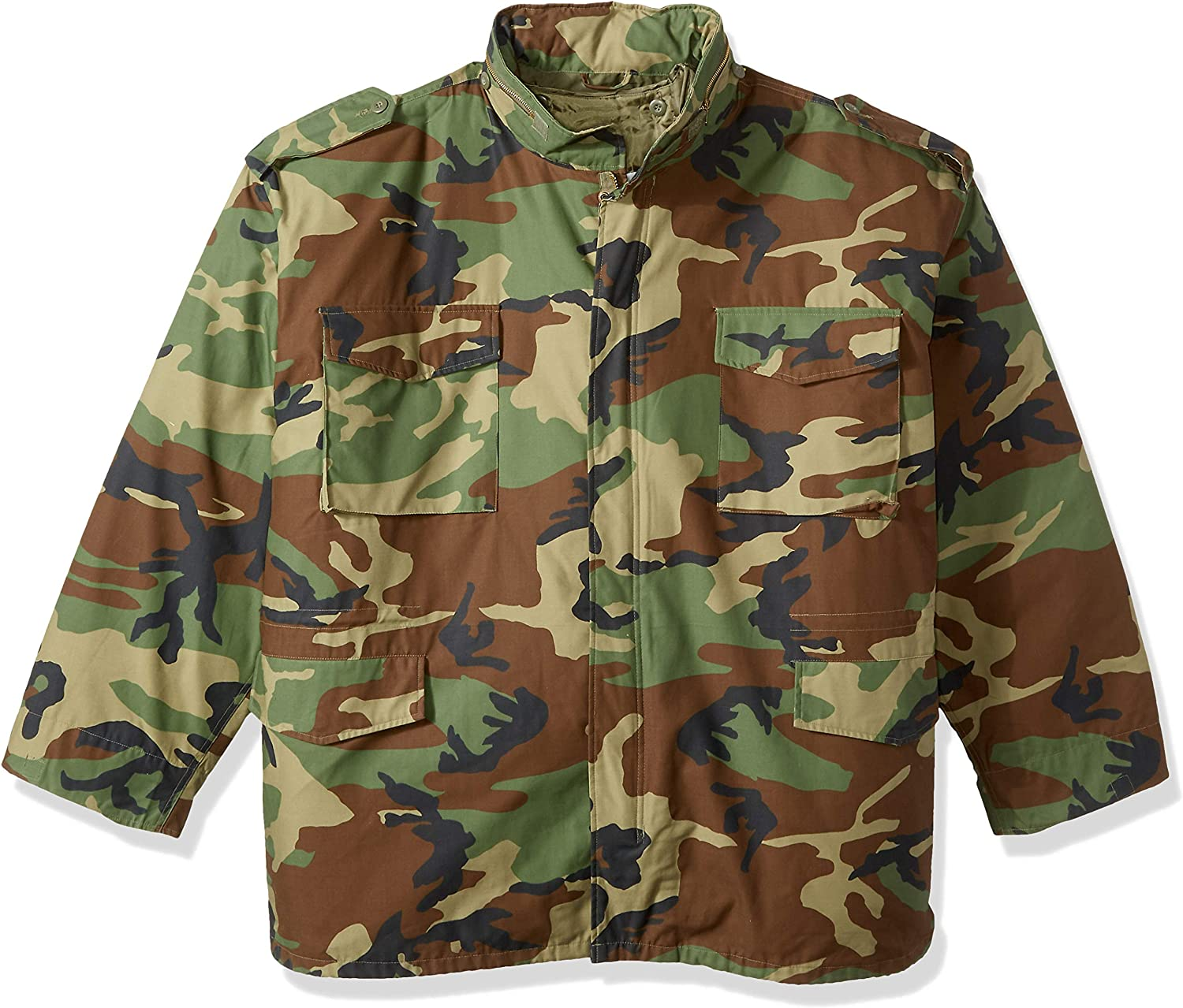 Rothco Camo M-65 Field Jacket Camouflage unisex Military Jac Same day shipping