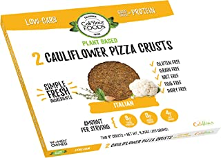 CALI'FLOUR Plant Based Cauliflower Pizza Crust, 2 Count