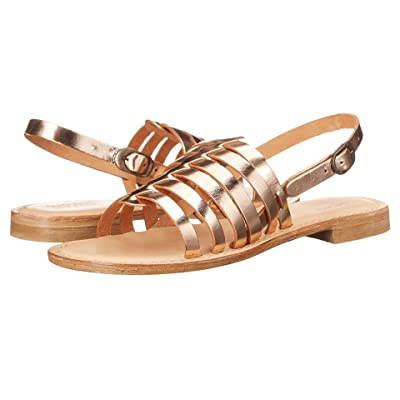 Summit by White Mountain Elanna (Rose Gold Metallic Leather) Women