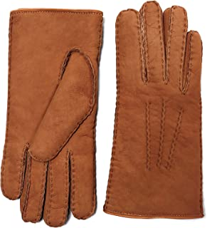 YISEVEN Women's Curly Shearling Gloves New Zealand Lambskin Handmade