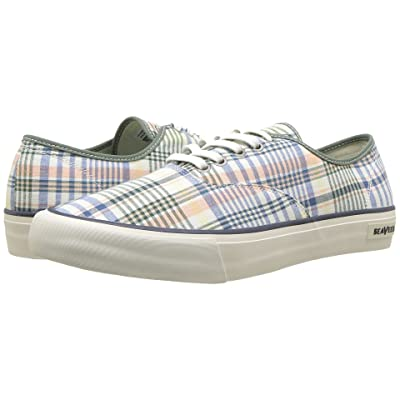 SeaVees Legend Sneaker Madras (Sage) Men