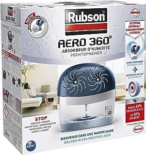 Rubson AERO 360º Déshumidificateur d'air pour la maison, absorbeur..