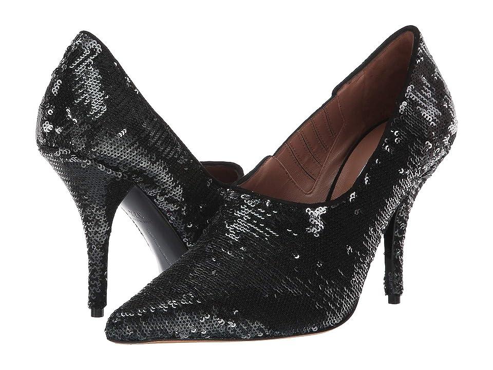 Tabitha Simmons Oona (Black/Silver Sequins) High Heels