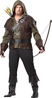California Costumes Plus-Size Robin Hood Shirt With Vest Costume